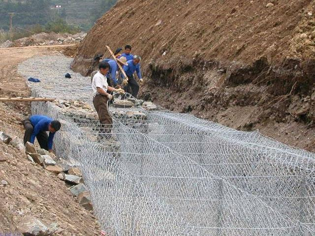 满州里锌铝合金石笼网